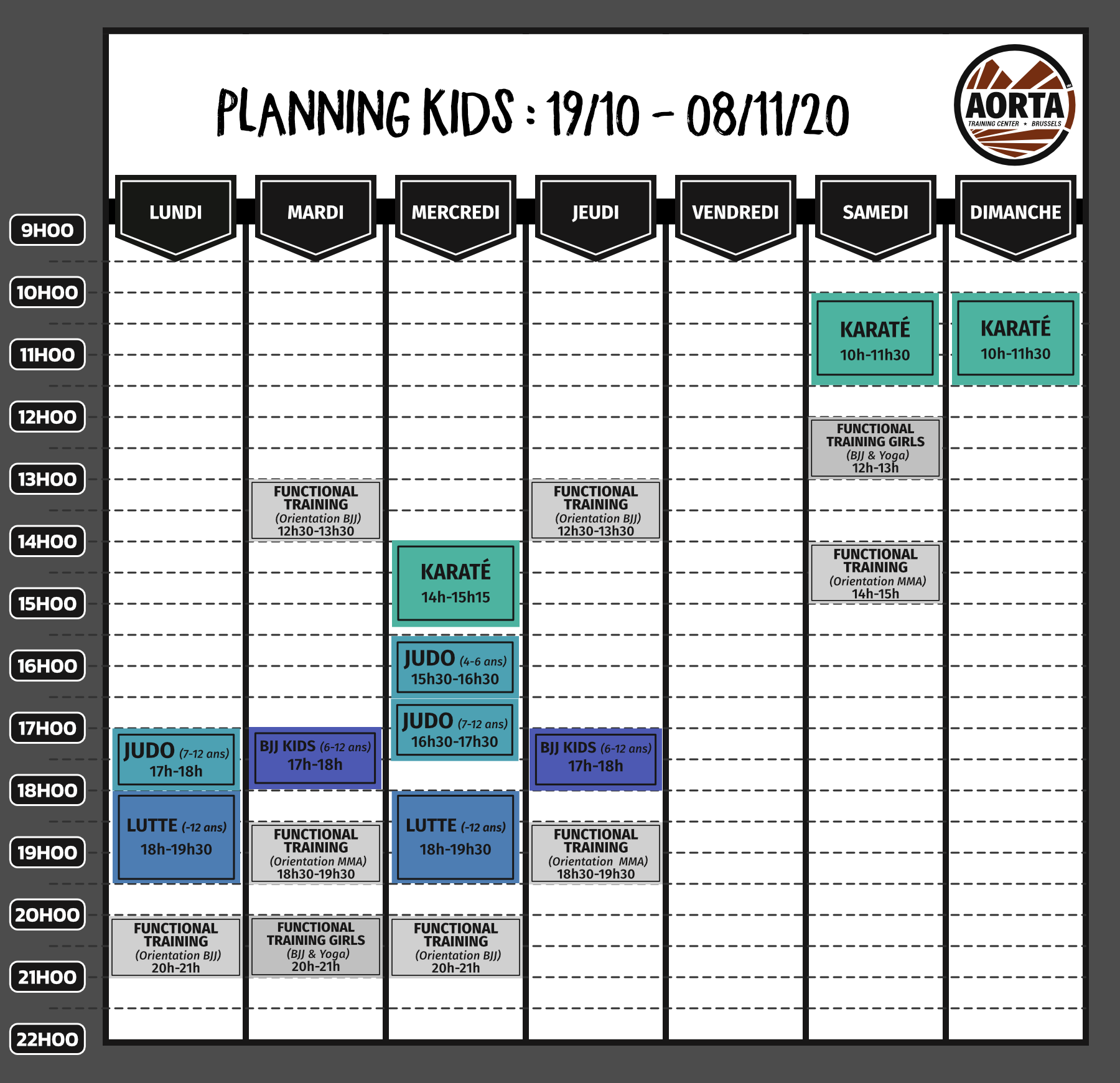planning kids - special Covid