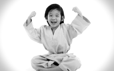 Little kids judo