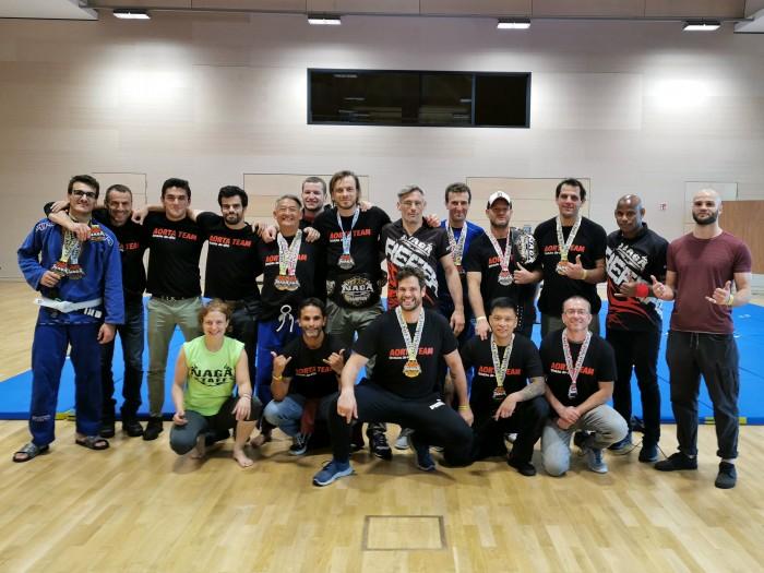 Des médailles pour la rentrée lors du championnat NAGA au Luxembourg