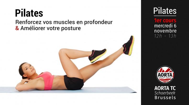 Séance d'essai pour le premier cours de Pilates
