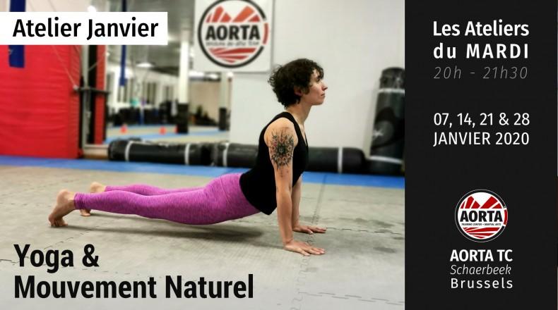 Yoga et Mouvement Naturel pour une Meilleure Mobilité