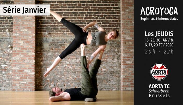 Acroyoga : serie Beginners and Intermediates - january 2020