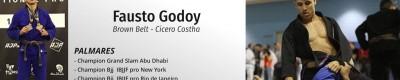 Workshop de Jiu-Jitsu Brésilien - Leg Drag & Back Taking - Fausto Godoy