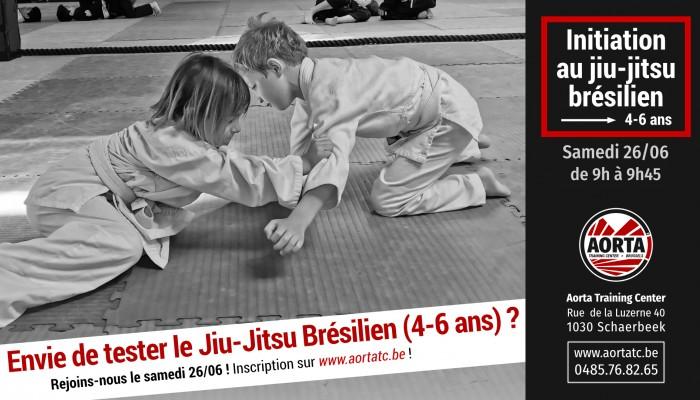 Initiation à l'éveil Jiu-Jitsu Brésilien pour les enfants 4-6 ans