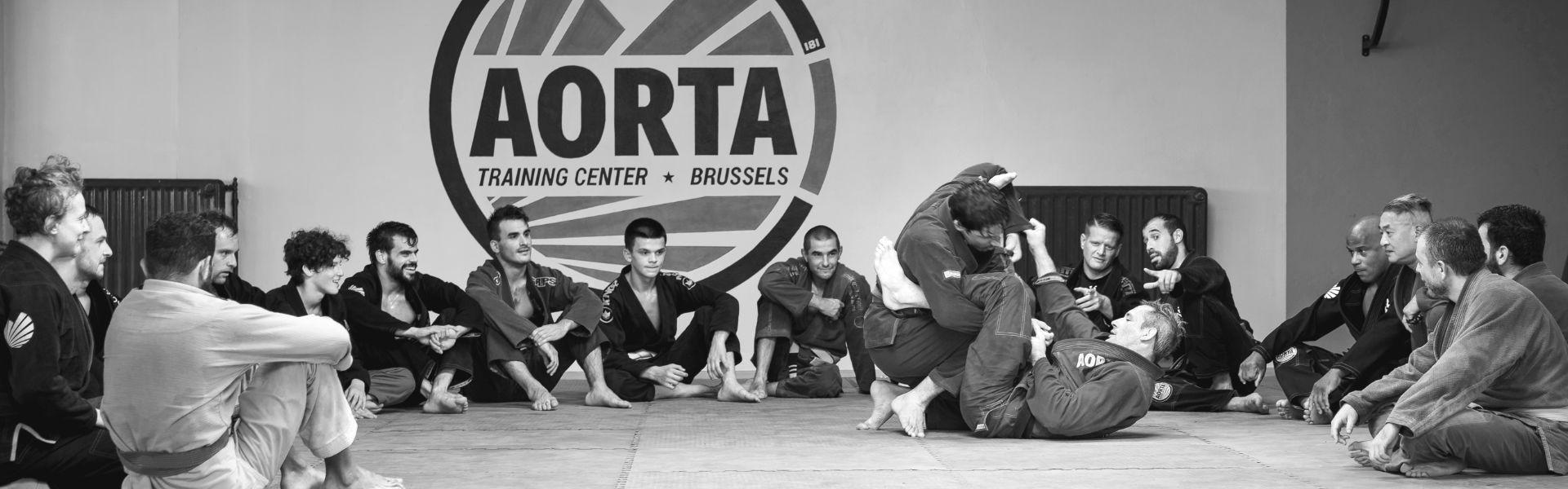 Brazilian Jiu-Jitsu at Aorta