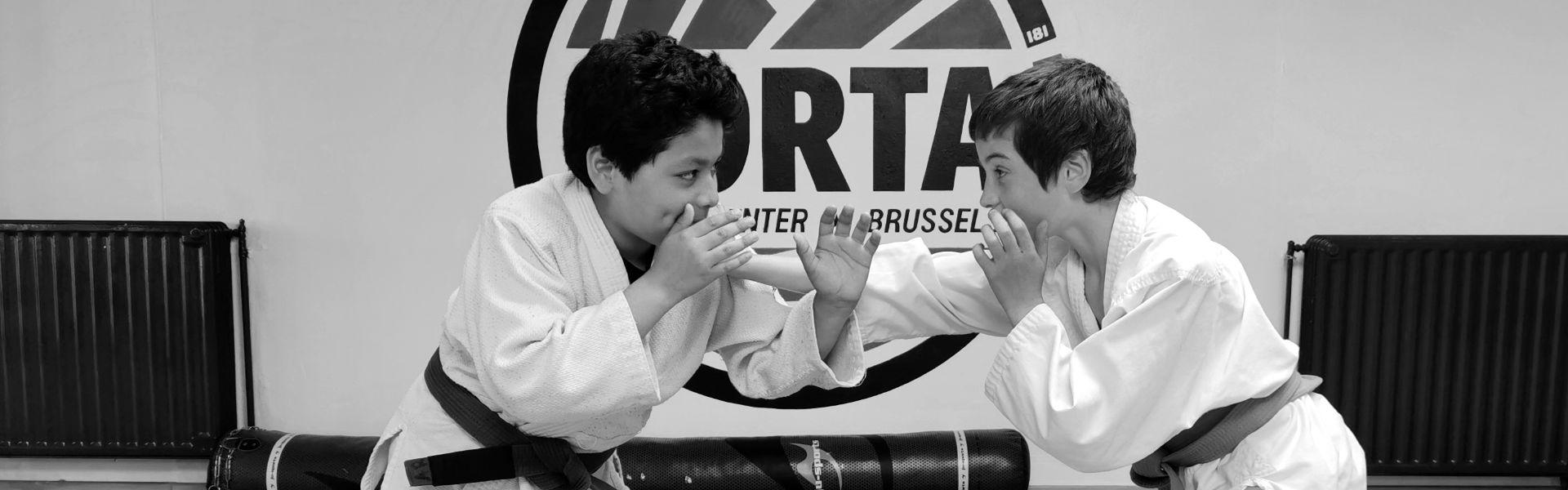 Brazilian Jiu-Jitsu for kids at Aorta